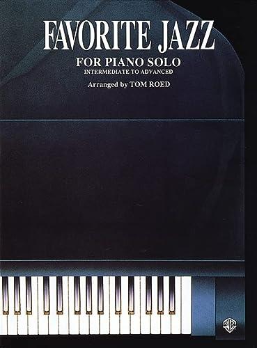 9780769212630: Favorite Jazz for Piano Solo: Intermediate to Advanced