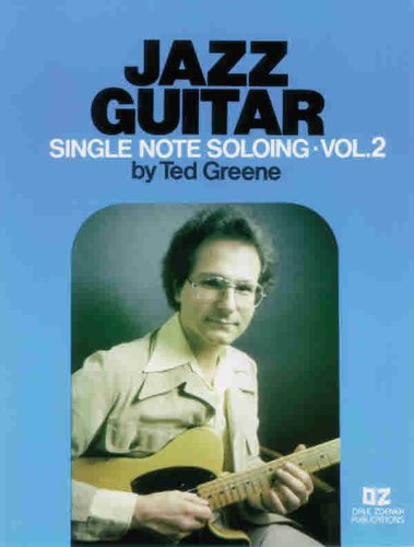 9780769212821: Jazz Guitar Single Note Soloing,  Volume 2