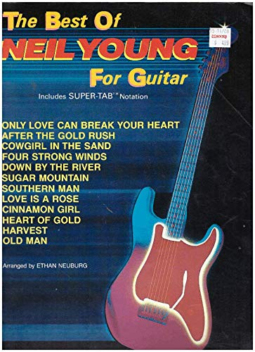 9780769213408: The Best of Neil Young for Guitar: Includes Super TAB Notation (The Best of... for Guitar Series)