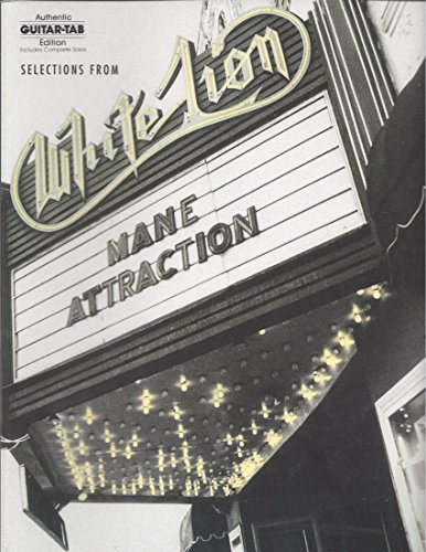 9780769213415: Selections from Mane Attraction (Authentic Guitar Tab)