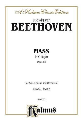 Mass in C Major, Op. 86: Satb