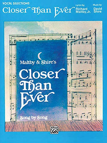 9780769214672: Closer Than Ever: Vocal Selections