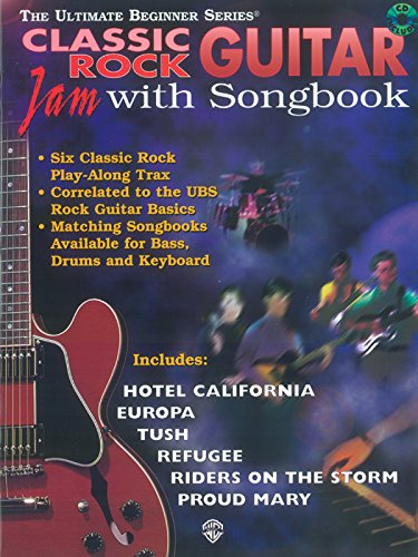 9780769214757: Classic Rock Guitar: Jam With Songbook