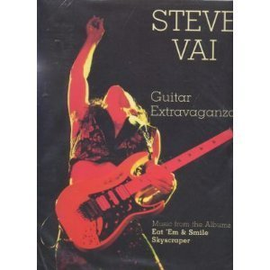 Steve Vai Guitar Extravaganza: Authentic Guitar TAB (Authentic Guitar-Tab Editions) (0769215033) by Steve Vai