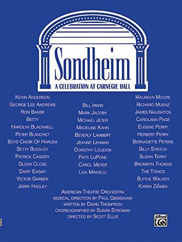 Sondheim: A Celebration at Carnegie Hall: Sondheim, Stephen