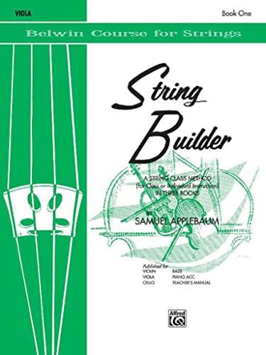 9780769215532: String Builder, Bk 1: Viola (Belwin Course for Strings)
