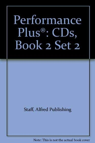 Performance Plus?: CDs, Book 2 Set 2: Alfred Publishing