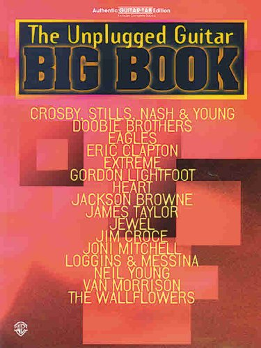 9780769216706: The Unplugged Guitar Big Book: Authentic Guitar Tab Edition