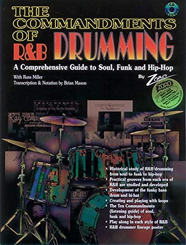 9780769216911: The Commandments of R&B Drumming: A Comprehensive Guide to Soul, Funk and Hip Hop