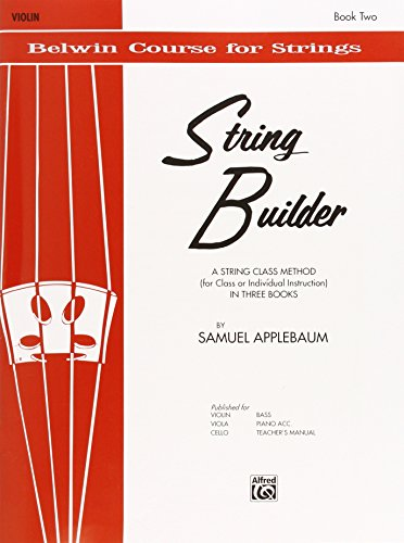 9780769217741: String Builder, Bk 2: Violin (Belwin Course for Strings)