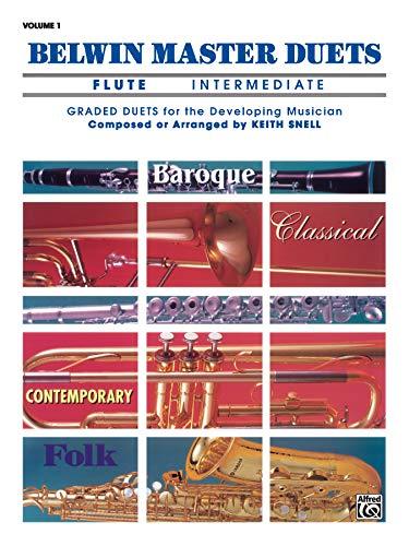 9780769217772: Belwin Master Duets (Flute), Vol 1: Intermediate