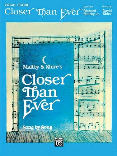 9780769218205: Closer Than Ever Vocal Score PVG