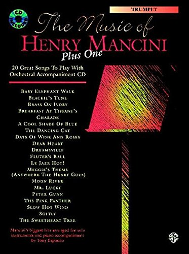 9780769218861: The Music of Henry Mancini Plus One: Alto Saxophone : 20 Great Songs to Play With Orchestral Accompaniment Cd