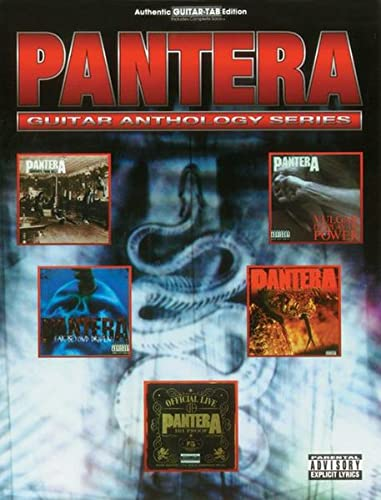 Pantera. Guitar Anthology Series.