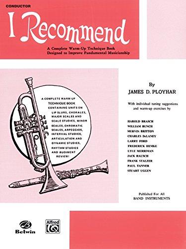9780769219738: I Recommend: C Flute (Piccolo)
