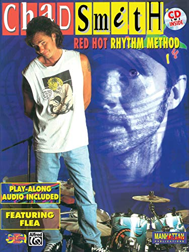 9780769220239: Chad Smith -- Red Hot Rhythm Method: Book & CD (DCI Video Transcription Series)