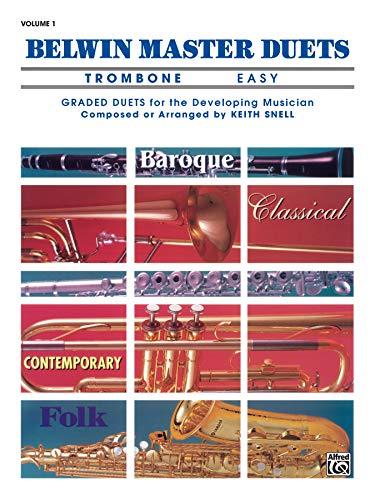 9780769221359: Belwin Master Duets (Trombone), Vol 1: Easy