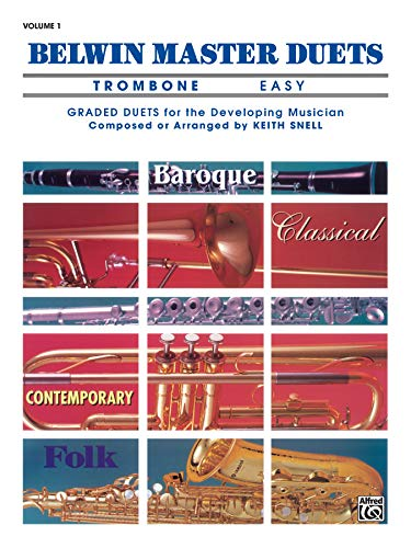 9780769221359: Belwin Master Duets Trombone Easy, Vol. 1