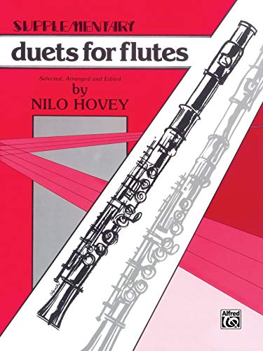 Supplementary Duets for Flutes: Hovey; Nilo W.