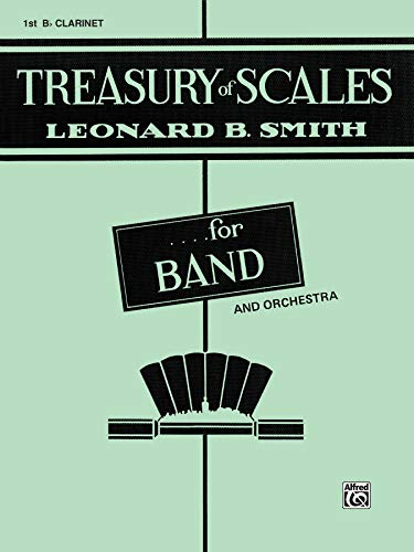 9780769221588: Treasury of Scales for Band and Orchestra: 1st B-flat Clarinet