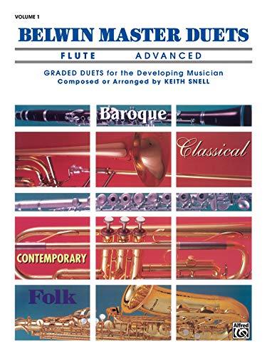 9780769221694: Belwin Master Duets (Flute), Vol 1: Advanced