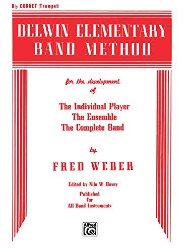 9780769222097: Belwin Elementary Band Method: B-Flat Cornet (Trumpet)