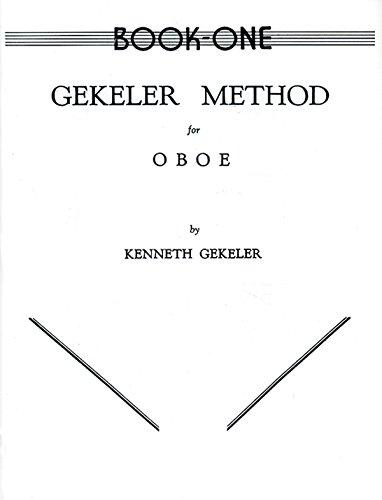 9780769222141: Gekeler Method for Oboe, Bk 1
