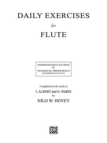 Daily Exercises for Flute Format: Book: Compiled from the