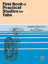 9780769222653: Practical Studies for Tuba, Bk 1