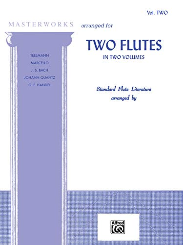 9780769223599: Masterworks for Two Flutes, Bk 2