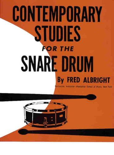 9780769223919: Contemporary Studies for Snare Drum
