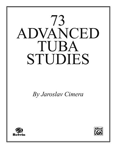 9780769224299: Seventy-Three Advanced Tuba Studies
