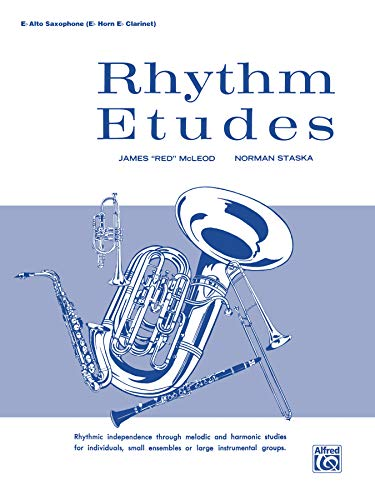 9780769227160: Rhythm Etudes E-flat Alto Saxophone E-flat Horn, E-flat Clarinet
