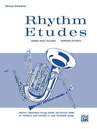 "Rhythm Etudes (0769229034) by McLeod; James """"Red""""; Staska; Norman"
