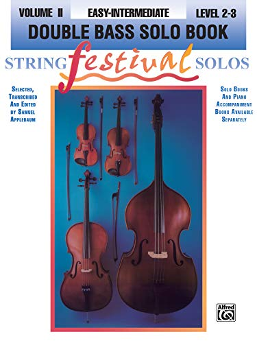 9780769230146: String Festival Solos, Vol 2: Double Bass Solo