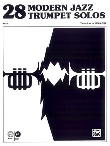 9780769230184: 28 Modern Jazz Trumpet Solos: Book 2