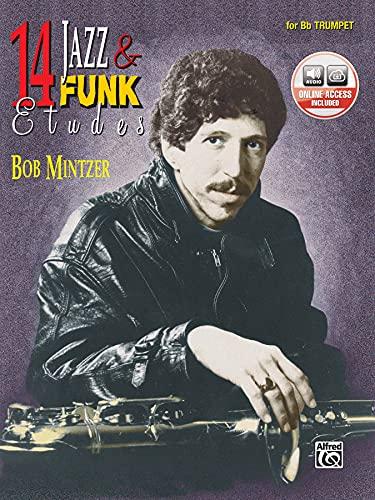 9780769230283: 14 Jazz & Funk Etudes: B-flat Trumpet