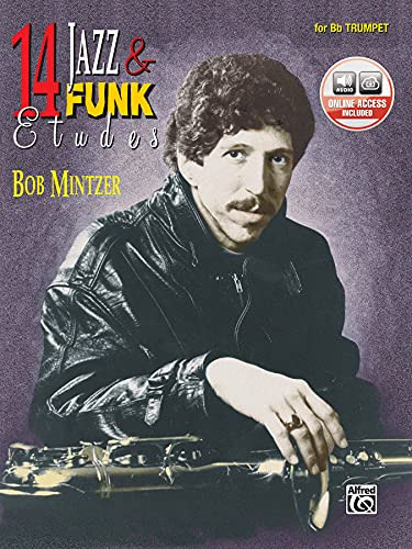 9780769230283: 14 Jazz & Funk Etudes: B-flat Trumpet, Book & CD