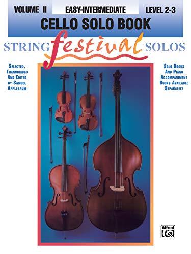 9780769230375: String Festival Solos, Vol 2: Cello Solo