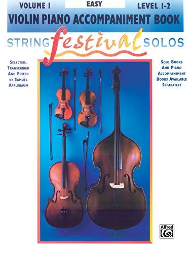 9780769230597: String Festival Solos, Vol 1: Violin Piano Acc.