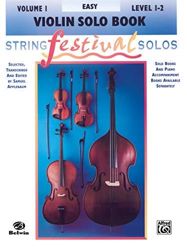9780769230603: String Festival Solos, Vol 1: Violin Solo