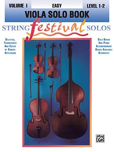 9780769230627: String Festival Solos, Vol 1: Viola Solo