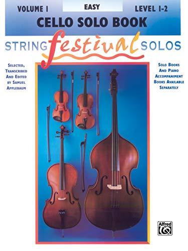 9780769230641: String Festival Solos, Vol 1: Cello Solo