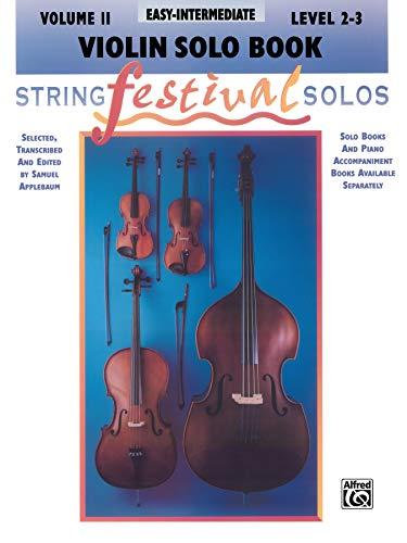 9780769230689: String Festival Solos, Vol 2: Violin Solo