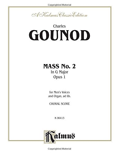Mass No. 2 in G Major, Opus: By Charles François