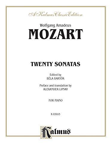 9780769230986: Twenty Sonatas (Kalmus Edition)