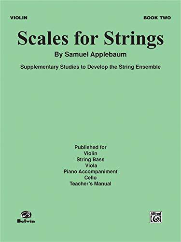 Scales for Strings, Bk 2: Violin (Paperback): Samuel Applebaum
