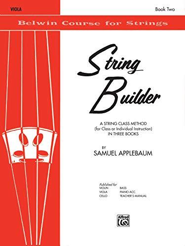 9780769231327: String Builder, Bk 2: Viola (Belwin Course for Strings)