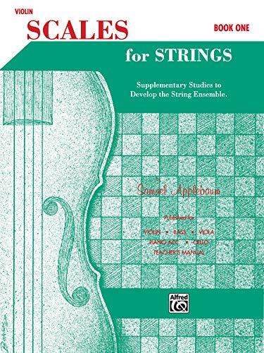 Scales for Strings, Bk 1: Violin (Paperback): Samuel Applebaum