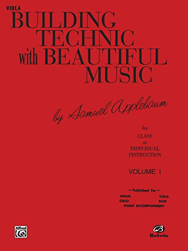 9780769231525: Building Technic With Beautiful Music, Bk 1: Viola